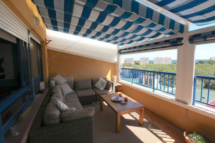 Apartment with fantastic views in Campoamor