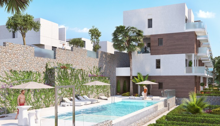 Luxury newbuild apartments in Las Ramblas
