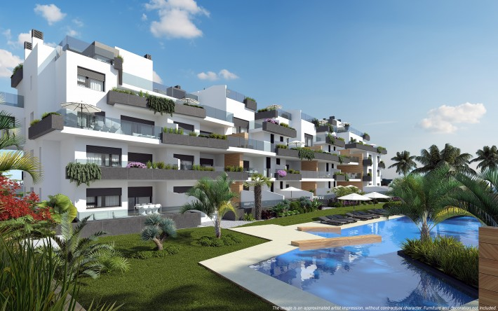 Beautiful modern apartments in Los Dolses