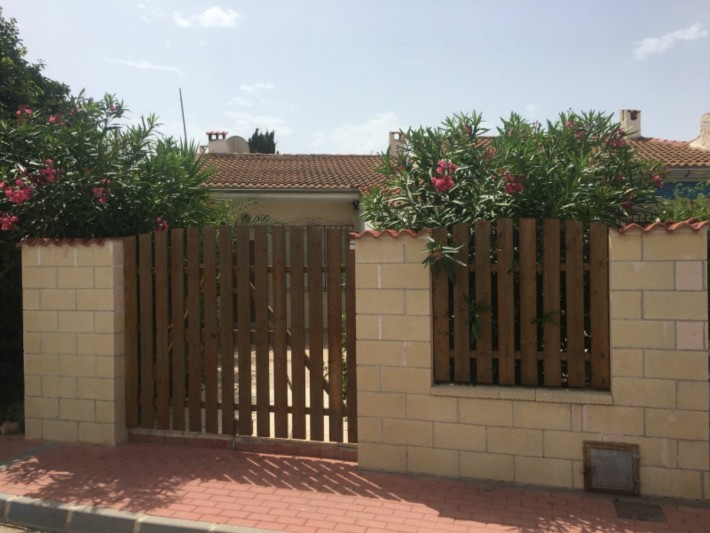 Terraced house on one level in Torrevieja