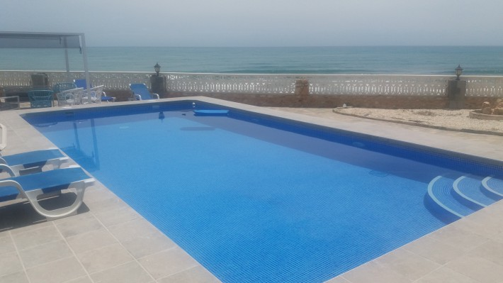 Front line plot in Cabo Roig