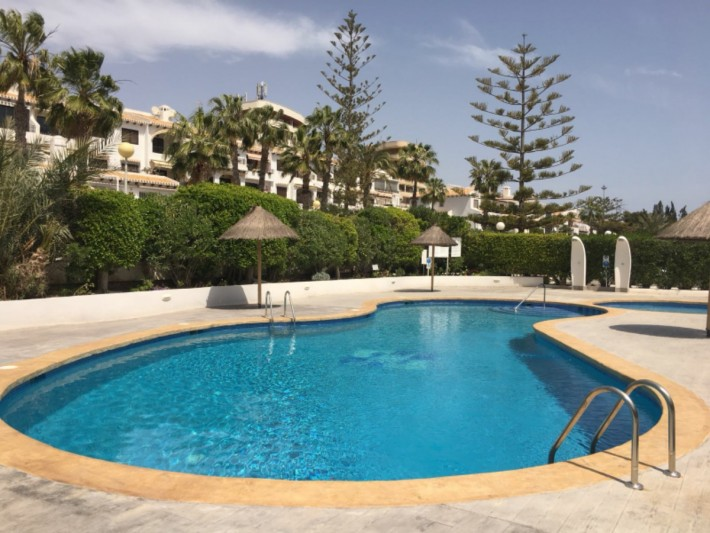 Downstairs apartment with large terrace on the beachside of Cabo Roig