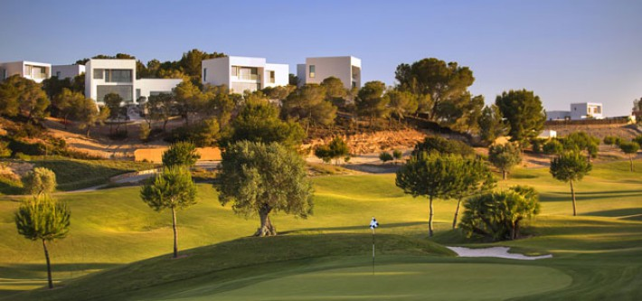 Luxury villas on the golf course