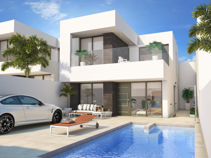 Newbuild detached villas in Benijofar